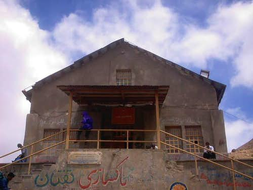 Sobah Hut at Taftan Mt.