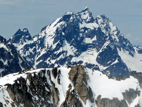 Mount Stuart from Enchantment Peak