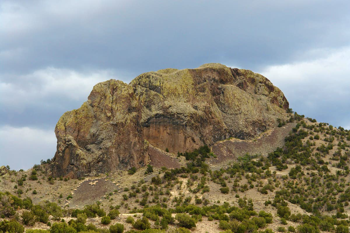 Cerro Parido from the northwest