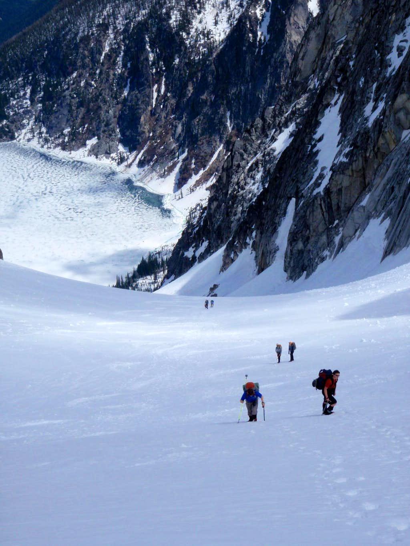 Upper Colchuck Glacier