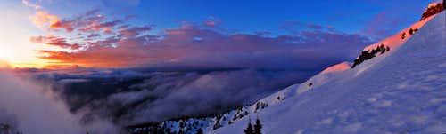 Pilchuck Alpenglow