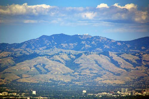 Mt. Hamilton, 4,213\'  with Lick Observatory