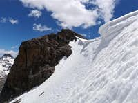 Top of Northwest Couloir