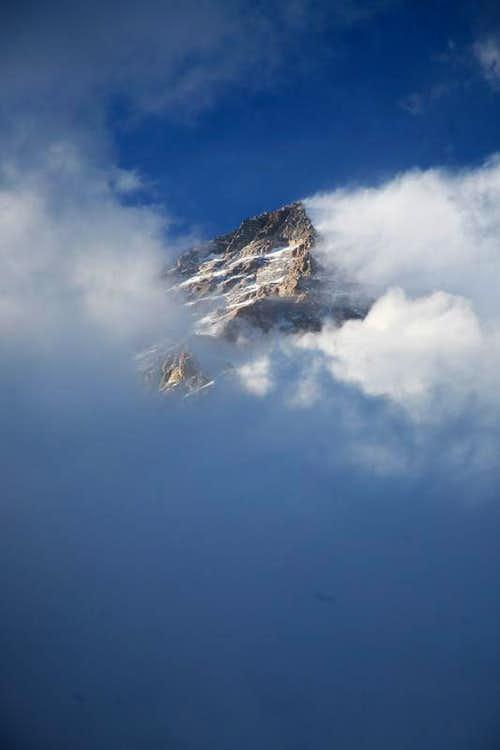 Broad Peak in Clouds