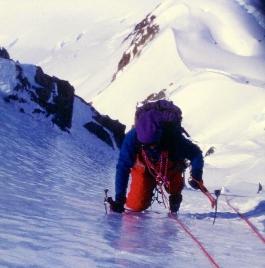 Cerro Nato - Exciting ice climbing on Luce de Leche