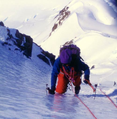 Cerro Nato - Exciting ice climbing on Luce de Leche