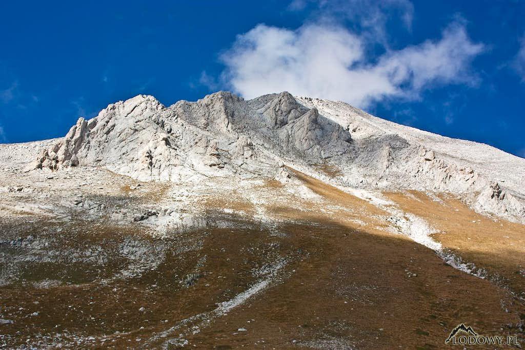 Vihren summit crags