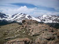 Summit rocks of Bighorn Mountain