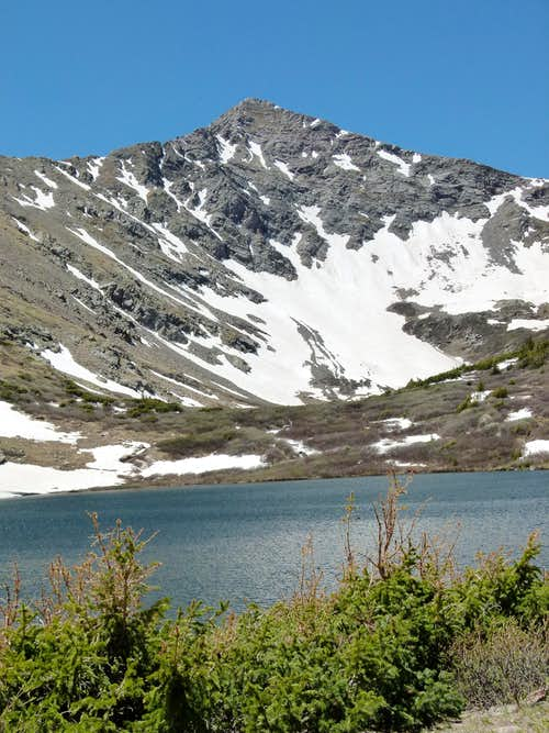 Comanche Peak and Lake