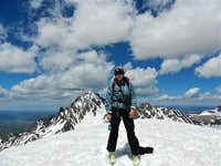 Summit Pose on Gilpin Peak