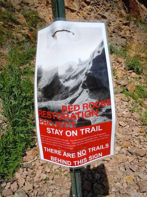 Mount Morrison Funicular Ridge Access Closed