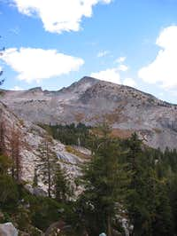 Pyramid Peak from the west....