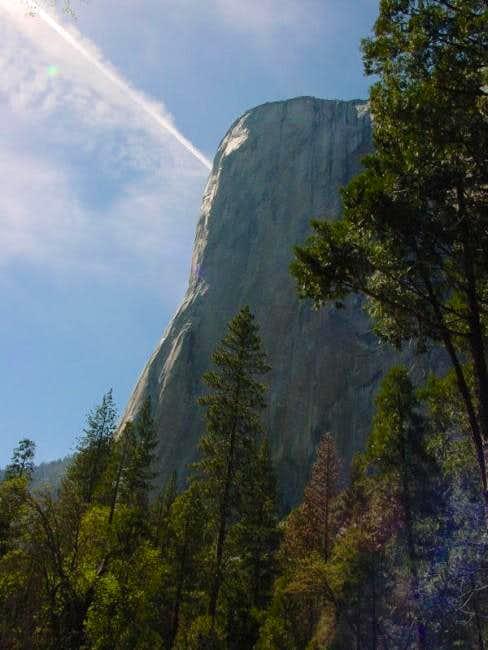 El Cap's Nose in profile....