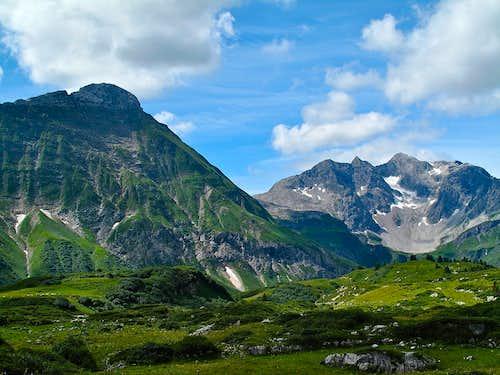 Beautiful spot above the Hochtannberg pass