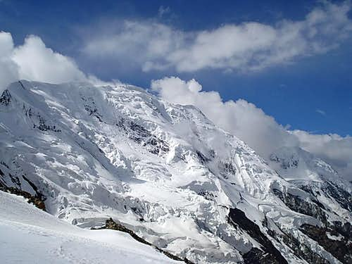 Broad Peak as seen from the top of Gondogoro Pass