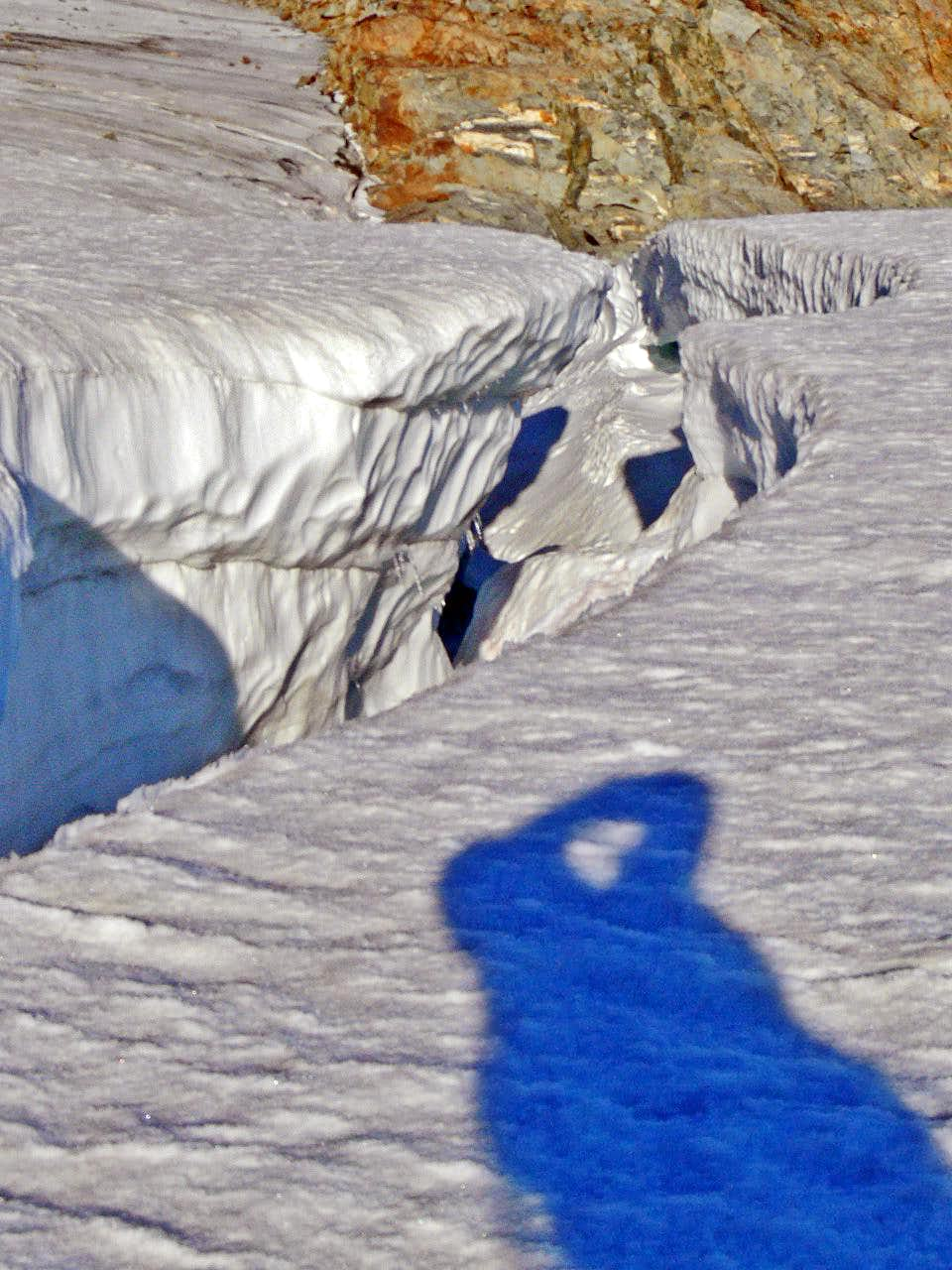 One of the Many Crevasses