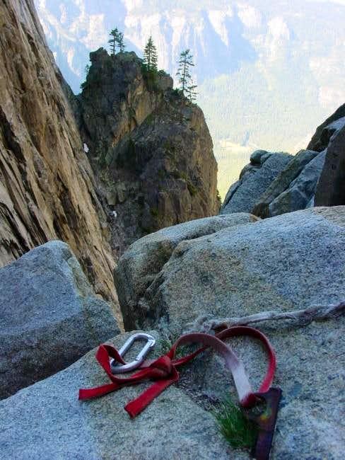 Finding some booty in El Cap...