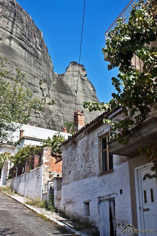 Kalabaka streets - Meteora
