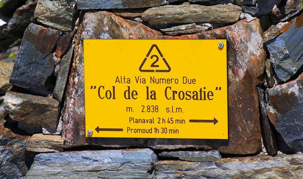Punta de la Crosatie