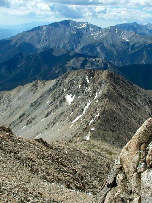 7/11/04: Mascot Peak from...