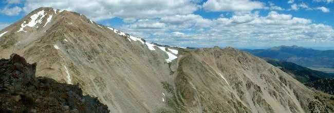 7/11/04: Mount Yale's long...