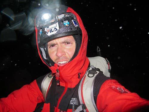 alpinism = suffering