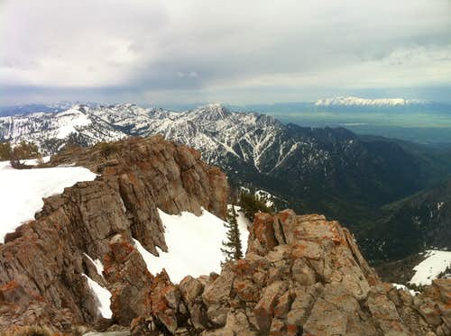 View W from Summit