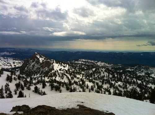 Mt. Magog from Mt. Naomi