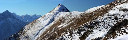 Becca d'Aver/Cima di Longhede Winter Double Traverse