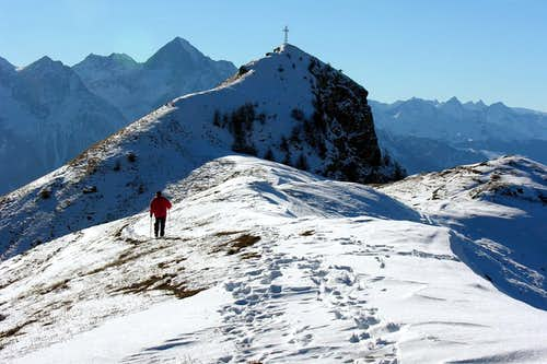 Cima di Longhede through the NE Ridge