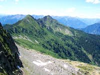 from the saddle between Marmontana and Cima di Cugn