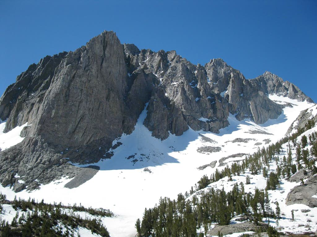 Temple Crag and Mount Gayley