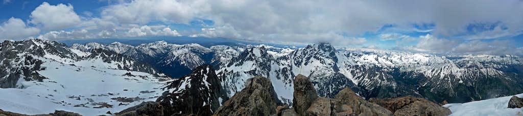Colchuck Peak Panorama