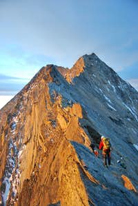 Lagginhorn south ridge