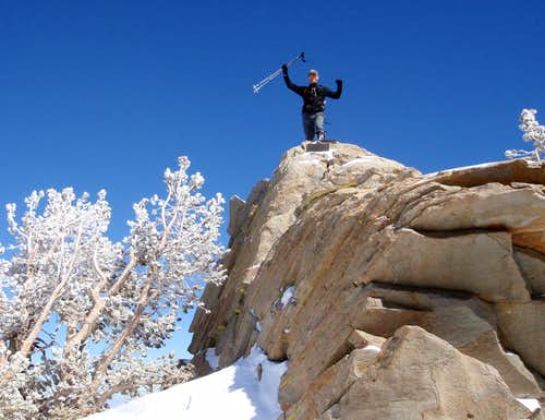 Miller Peak Summit