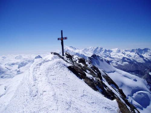 top of the Dom 4545m