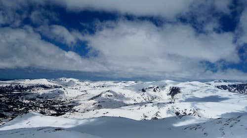 View North from Darton Summit