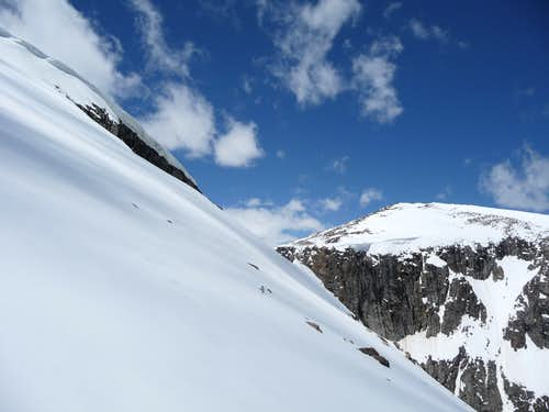 Snowfield on the East Face of Darton, June 21 2011