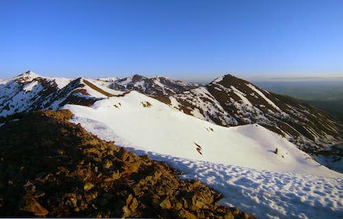Wing Ridge and Mt. Melissa
