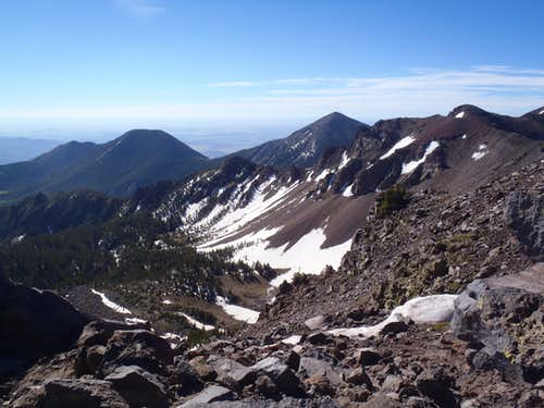 Humphreys Peak Inner Basin