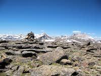 Rosalie Peak Summit Cairn