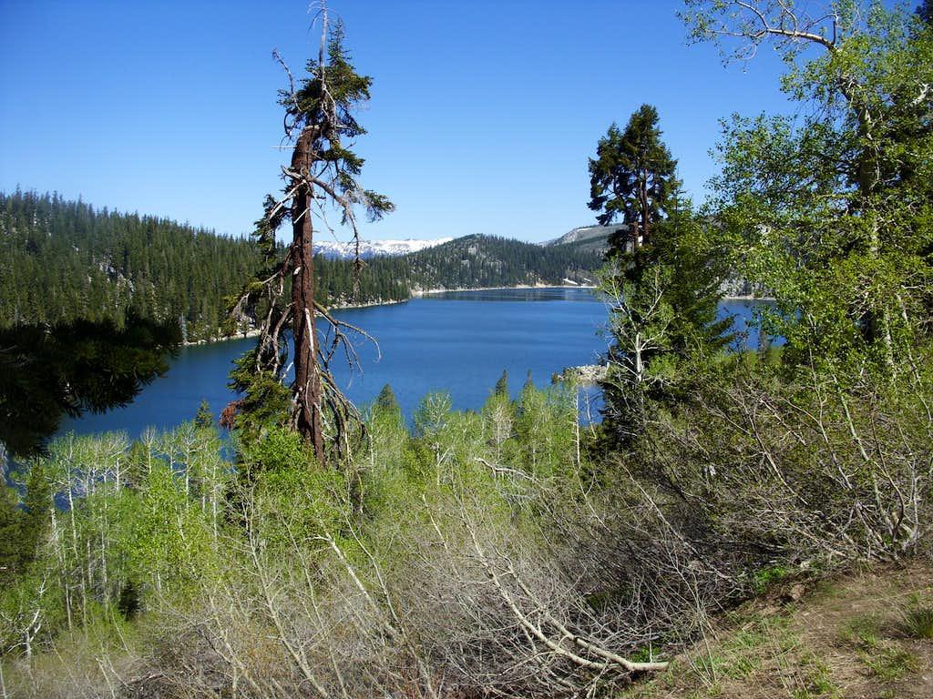 Approaching Marlette Lake