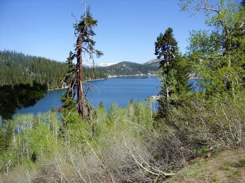 Approaching Marlette Lake