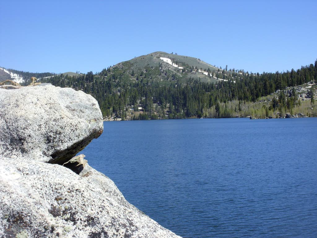 Marlette Peak from Marlette Lake