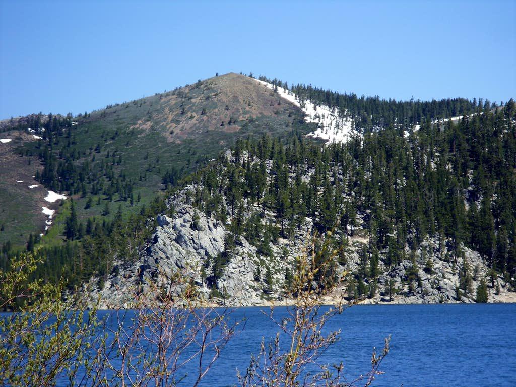 Peak 8855 from Marlette Lake