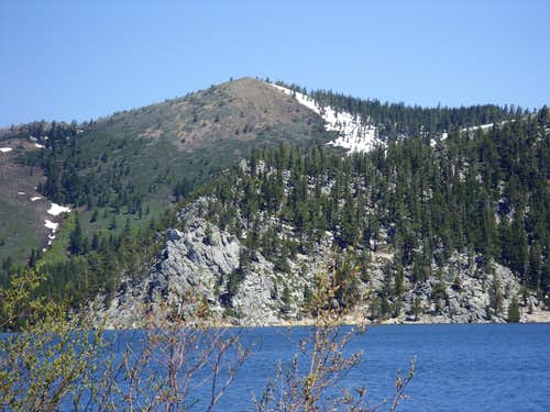 Peak 8855 from Marlette Lake