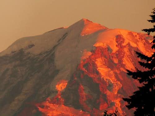 Sunset on the Liberty Ridge