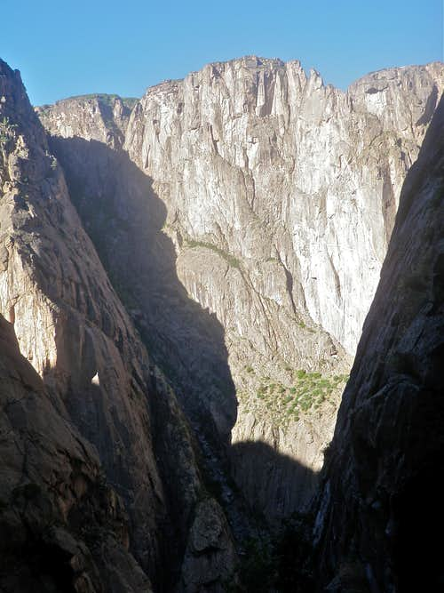 View of the Black Canyon Walls