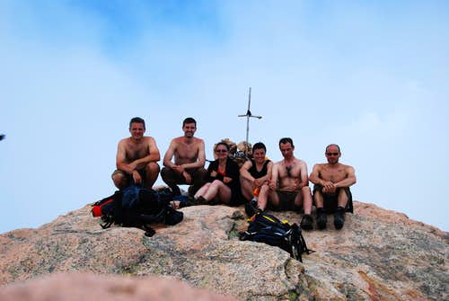 Capu d Ortu, top of Les Calanches
