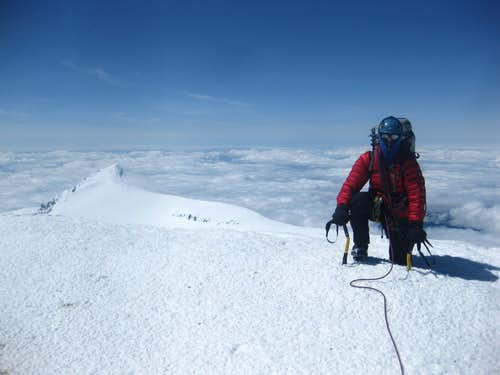 Summit of Rainier